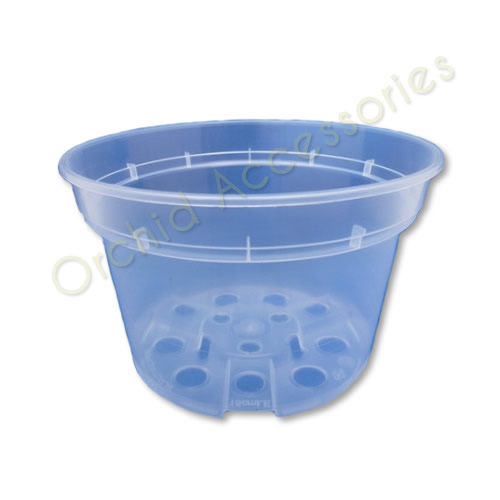 15cm Clear Shallow Pot, sold in packs of 5 only