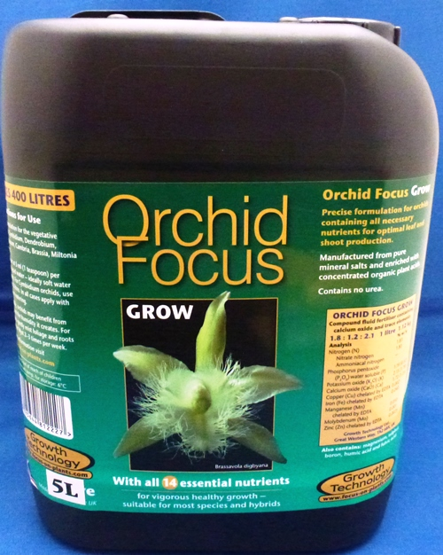 Orchid Focus Grow 5 Litre Bottle