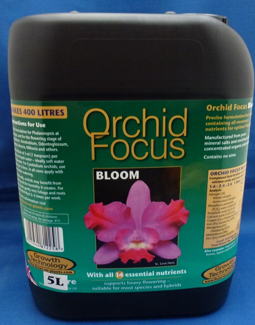Orchid Focus Bloom Fertilizer 5 Litre Bottle