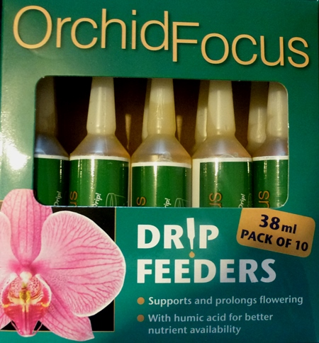 Orchid Focus Drip Feeders Large 38ml Size Pack of 10