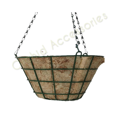 Hanging Basket With Moss Liner