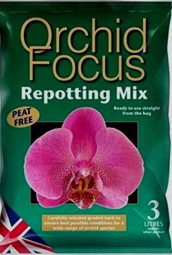 Orchid Focus Repotting Bark 3 Litre Bag