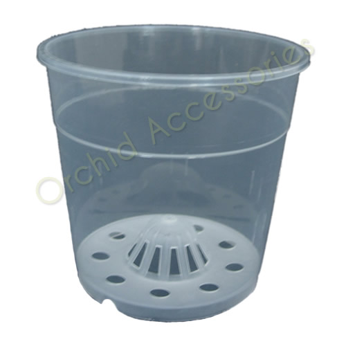 12cm Clear Aircone Round Pots sold in Packs of 5 only
