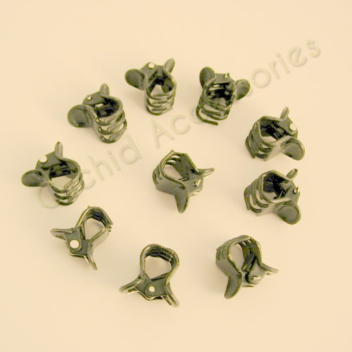 Small Plastic Clips (Light Green)